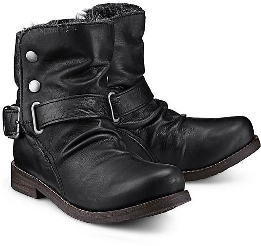 buffalo winter biker boots winter boots schwarz g rtz. Black Bedroom Furniture Sets. Home Design Ideas
