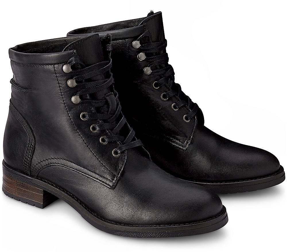 Buffalo, Winter-Stiefelette in schwarz, Stiefeletten für Damen Gr. 36