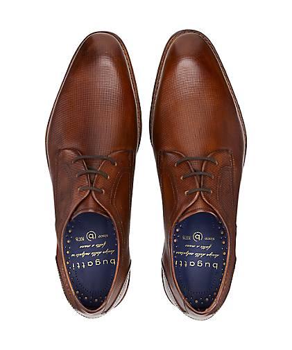 Bugatti City Business-Schnürer in   braun-mittel kaufen - 47479801   in GÖRTZ Gute Qualität beliebte Schuhe ba153e