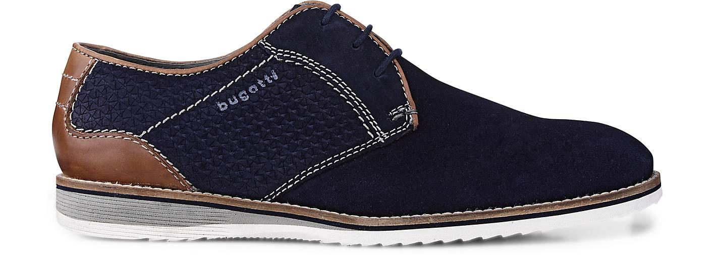 Bugatti City Business-Schnürschuh in blau-dunkel kaufen - 47192301 beliebte | GÖRTZ Gute Qualität beliebte 47192301 Schuhe 58f738