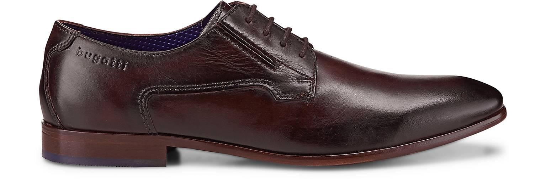Bugatti City - Business-Schnürschuh in braun-dunkel kaufen - City 46994701 | GÖRTZ Gute Qualität beliebte Schuhe 6ae199