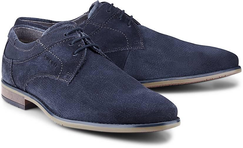 Bugatti City Derby-Schnürer in blau-dunkel kaufen - 47476801 GÖRTZ Gute Qualität beliebte Schuhe