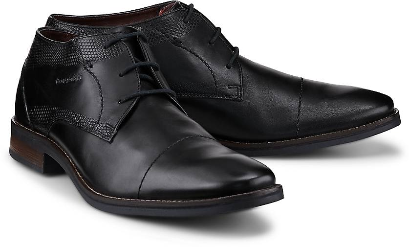 Bugatti City Derby-Schnürer in schwarz Gute kaufen - 47719901 | GÖRTZ Gute schwarz Qualität beliebte Schuhe e3dbb9