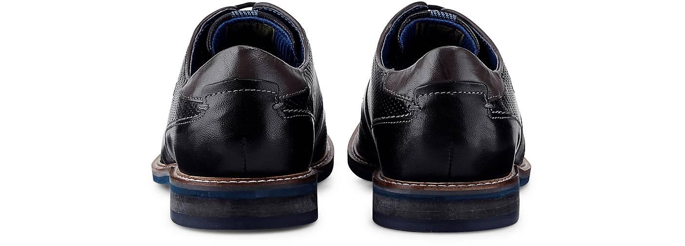 Bugatti City Derby-Schnürer in schwarz beliebte kaufen - 48206701 GÖRTZ Gute Qualität beliebte schwarz Schuhe 05df13