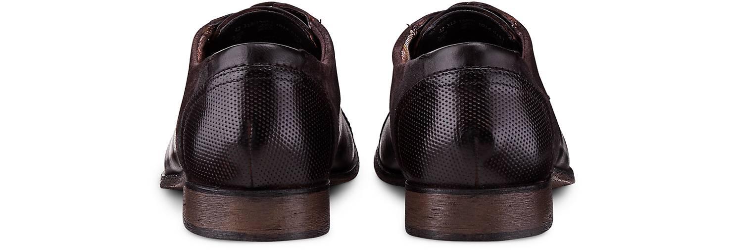 Bugatti City Derby-Schnürschuh 47476401 in braun-dunkel kaufen - 47476401 Derby-Schnürschuh | GÖRTZ Gute Qualität beliebte Schuhe dd0b6e