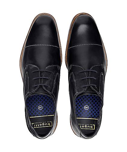 Bugatti City Derby-Schnürschuh in schwarz kaufen - 47479301 beliebte   GÖRTZ Gute Qualität beliebte 47479301 Schuhe 89b03e