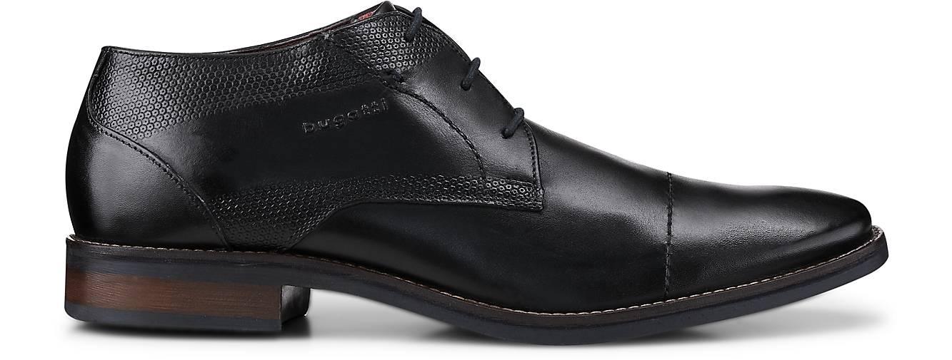 Bugatti kaufen City Derby-Schnürschuh in schwarz kaufen Bugatti - 47719901 | GÖRTZ Gute Qualität beliebte Schuhe f19eaa