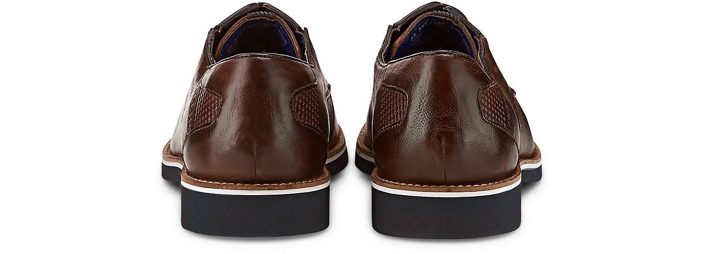 Bugatti City Freizeit-Schnürer in braun-dunkel kaufen - - - 46995001 GÖRTZ Gute Qualität beliebte Schuhe 589451