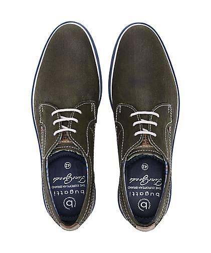 Bugatti City Freizeit-Schnürer in grün-dunkel kaufen - 48022401 beliebte GÖRTZ Gute Qualität beliebte 48022401 Schuhe 0d556a