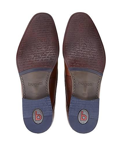 Bugatti GÖRTZ City Leder-Slipper in braun-mittel kaufen - 47190601 | GÖRTZ Bugatti Gute Qualität beliebte Schuhe 8a3c52