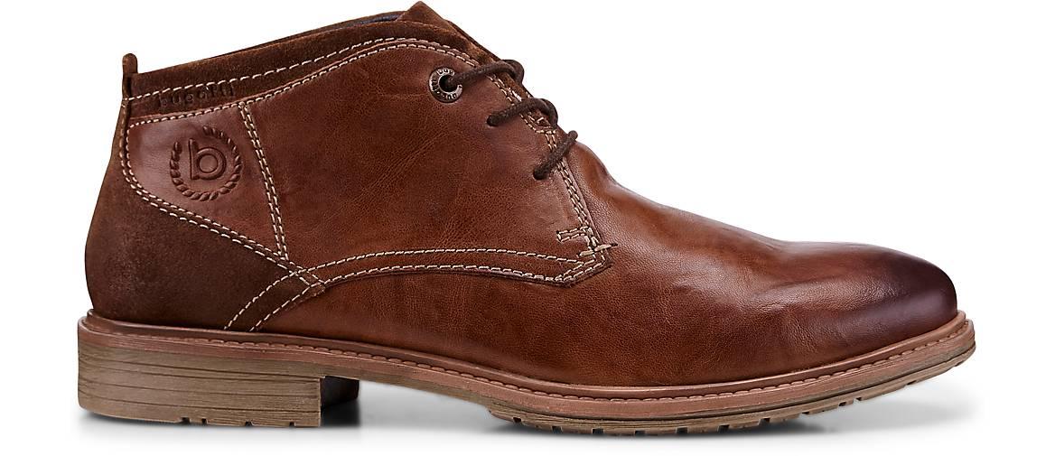 Bugatti City Schnür-Boots in braun-hell kaufen - 46977601 beliebte | GÖRTZ Gute Qualität beliebte 46977601 Schuhe 0917d3