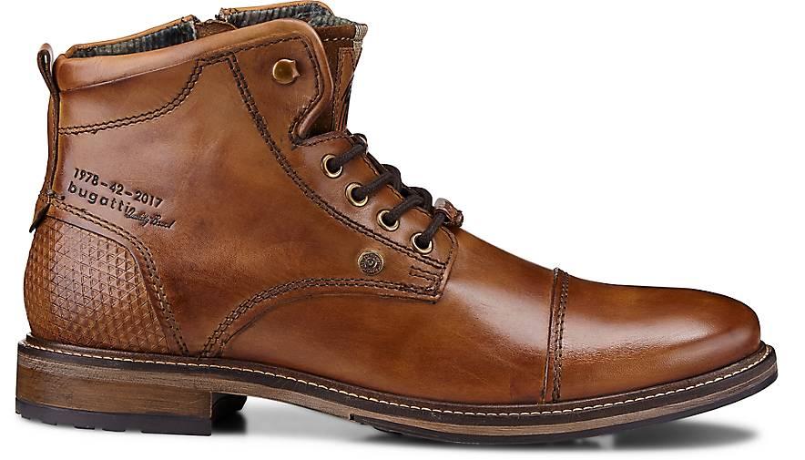 Bugatti City Schnür-Stiefel in braun-mittel kaufen | - 46663401 | kaufen GÖRTZ Gute Qualität beliebte Schuhe 90b1eb