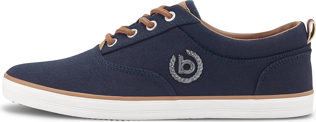 Bugatti Denim Canvas-Sneaker
