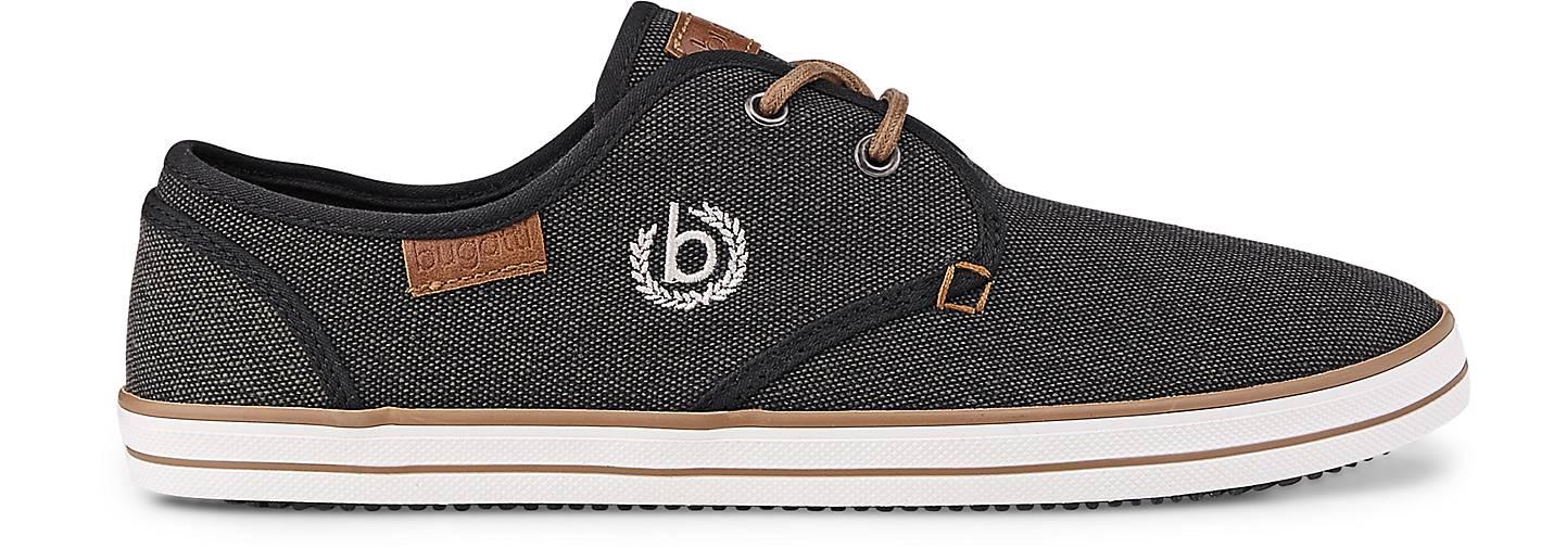 Bugatti GÖRTZ Denim Canvas-Sneaker in schwarz kaufen - 46306002 | GÖRTZ Bugatti Gute Qualität beliebte Schuhe 941f3b