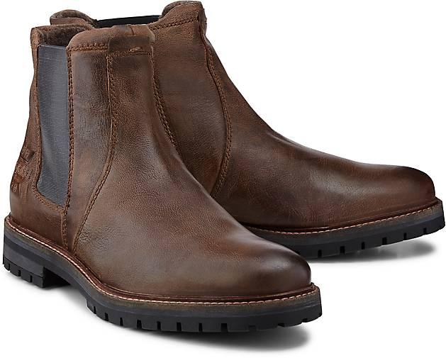 In Denim Chelsea boots dunkel Bugatti Braun Kaufen gf76by