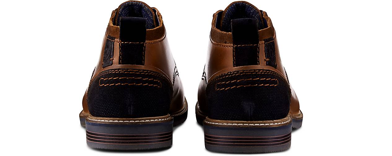 Bugatti Denim Desert-Boots in braun-mittel kaufen - 46502401 beliebte | GÖRTZ Gute Qualität beliebte 46502401 Schuhe 073510