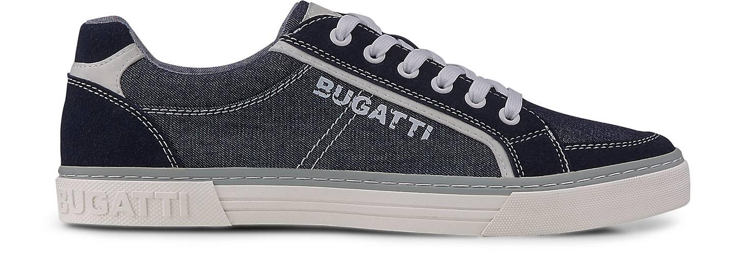 Bugatti GÖRTZ Denim Fashion-Turnschuhe in blau-dunkel kaufen - 48225701 GÖRTZ Bugatti Gute Qualität beliebte Schuhe 3f9f8c