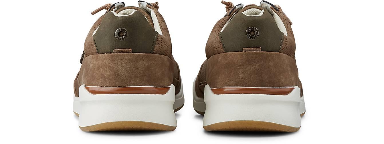 Bugatti Denim Fashion-Turnschuhe in taupe taupe in kaufen - 48111801 GÖRTZ Gute Qualität beliebte Schuhe dfbe6a