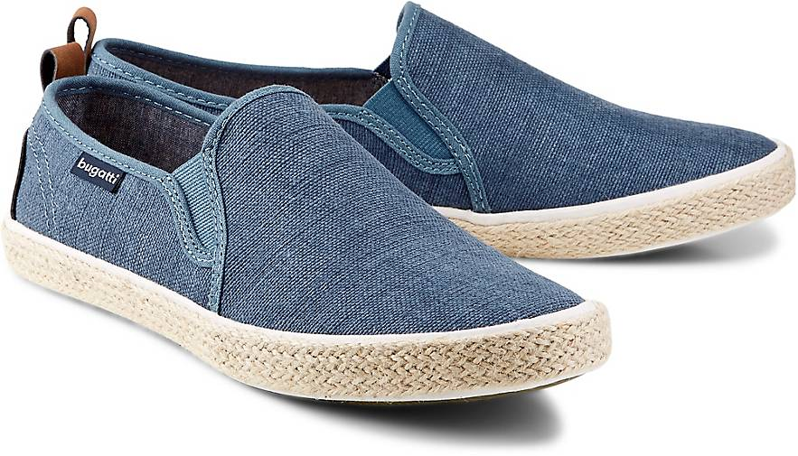 Bugatti Denim Freizeit-Slipper