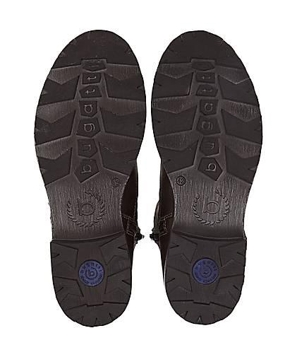 Bugatti Denim Krempel-Boots in grau-dunkel kaufen Gute - 46624801 | GÖRTZ Gute kaufen Qualität beliebte Schuhe 7b5208