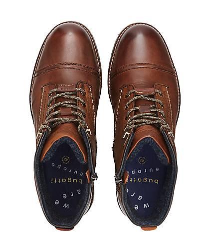 Bugatti Denim Schnür-Stiefel in braun-mittel kaufen - 47695702 GÖRTZ GÖRTZ GÖRTZ Gute Qualität beliebte Schuhe 6263d6