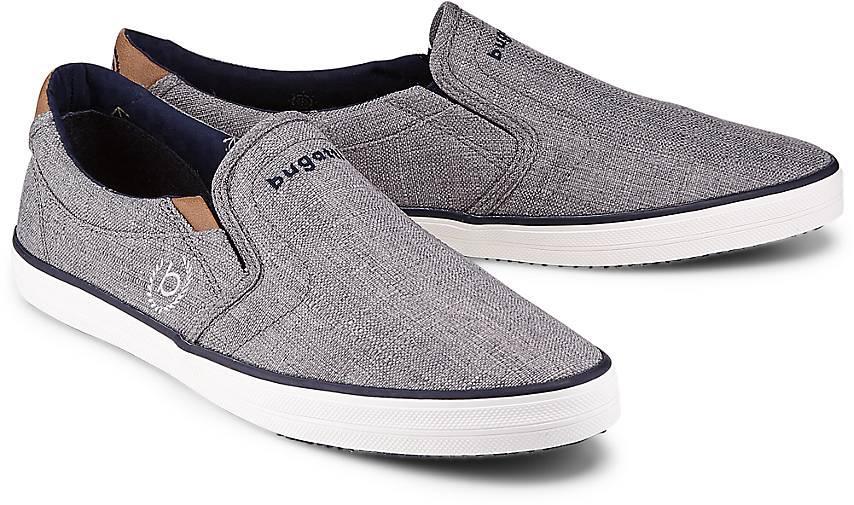 Bugatti Denim Slip-on-Sneaker