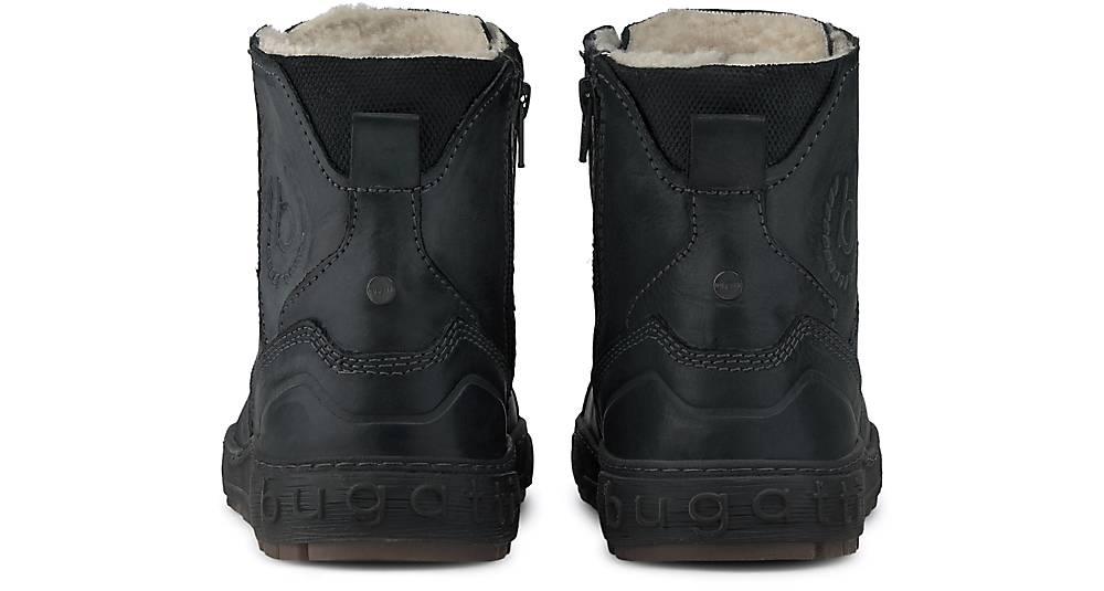 Bugatti Denim Winter-boots In Grau-dunkel Kaufen Winterstiefel Schnür-boots