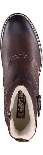 Bugatti Denim Winter-Stiefelette in   braun-dunkel kaufen - 45820401   in GÖRTZ Gute Qualität beliebte Schuhe b45d59
