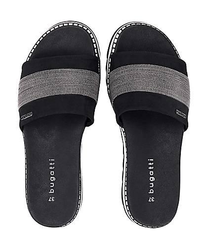 Bugatti Fashion-Pantolette in schwarz kaufen - 47150601 beliebte   GÖRTZ Gute Qualität beliebte 47150601 Schuhe 588d3a