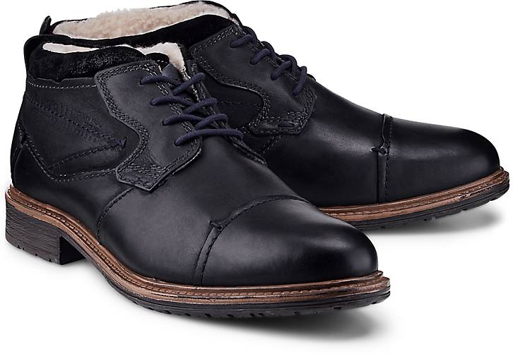 bugatti schn r boots winterstiefel schwarz g rtz. Black Bedroom Furniture Sets. Home Design Ideas
