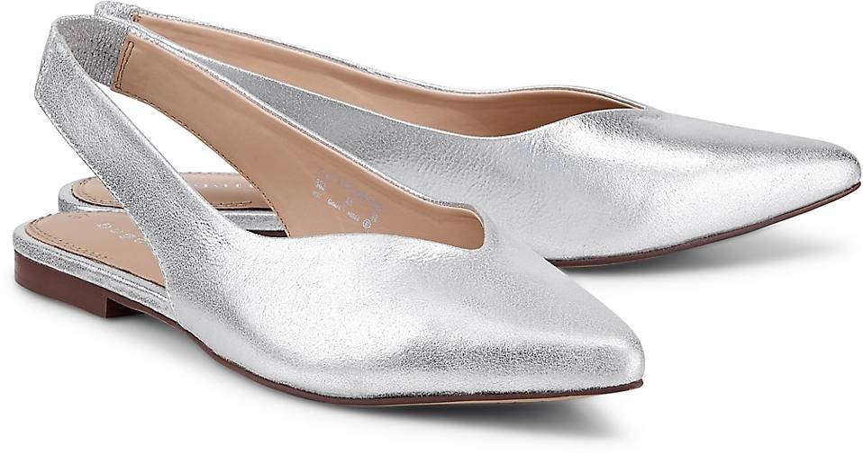 Bugatti Sling-Ballerina in silber kaufen kaufen kaufen - 48238402 GÖRTZ Gute Qualität beliebte Schuhe d888ea