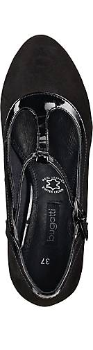 Bugatti T-Steg-Pumps in schwarz kaufen - 45467301 GÖRTZ GÖRTZ GÖRTZ Gute Qualität beliebte Schuhe 24c47a