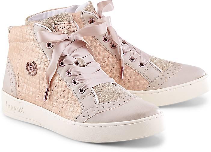 Trend-Sneaker in rosa, Sneaker für Damen Gr. 36 Bugatti