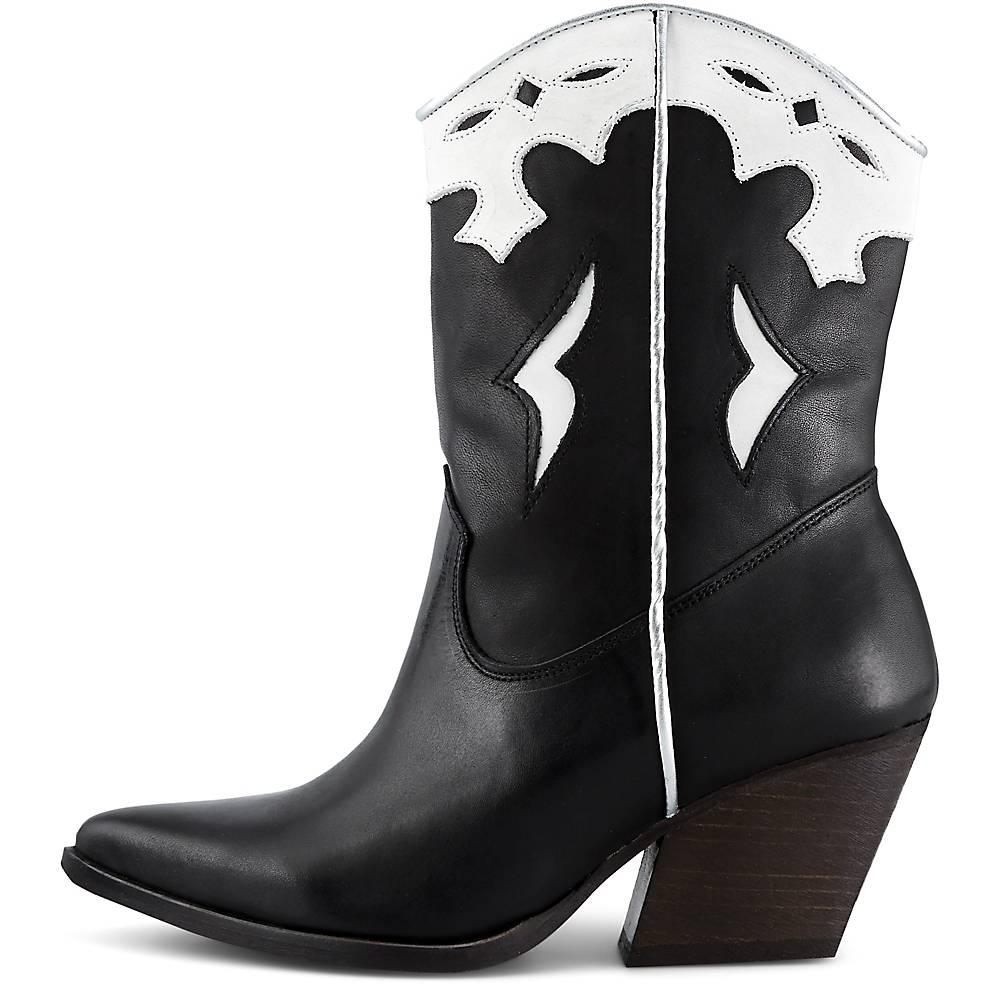 Bullboxer Western Boots schwarz~31562101~front~1000 - aktuelle Schnäppchen von Goertz