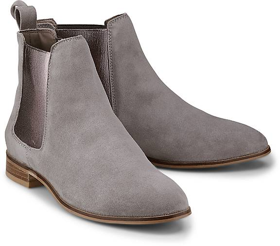 70f06e1706dc59 COX Chelsea-Boots in grau-hell kaufen - 47133203