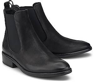 COX, Chelsea-Boots in schwarz, Boots für Damen