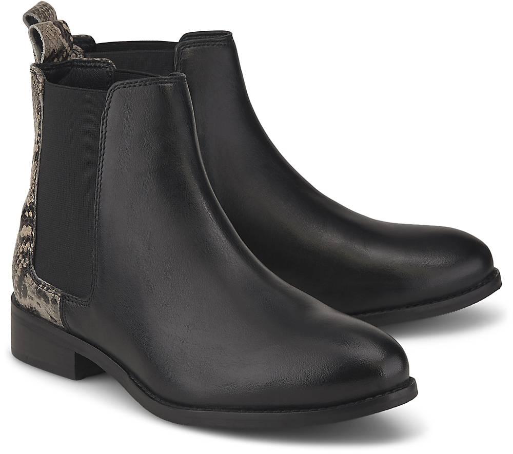 Chelsea-Stiefelette von COX in schwarz für Damen. Gr. 36,37,38,39,40,41,42 Preisvergleich