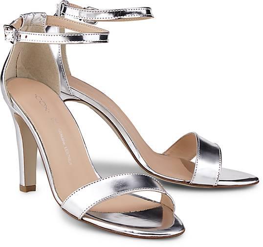 9cb5dbe1dc756f COX Glamour-Sandalette in silber kaufen - 46177601