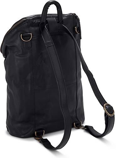 73f5ea7c43b10 COX Leder-Rucksack in schwarz kaufen - 45635403