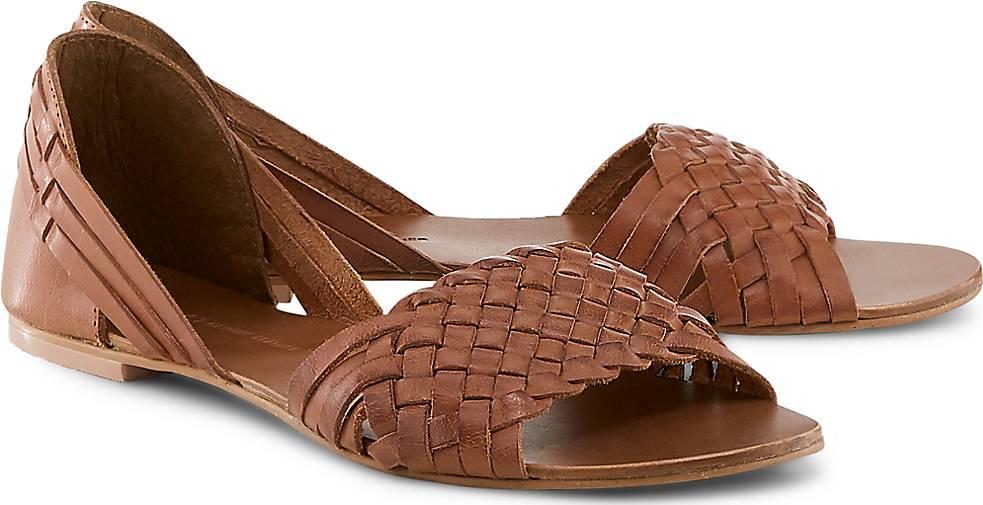 2b1042b414d9eb COX Leder-Sandale in braun-mittel kaufen - 48298201