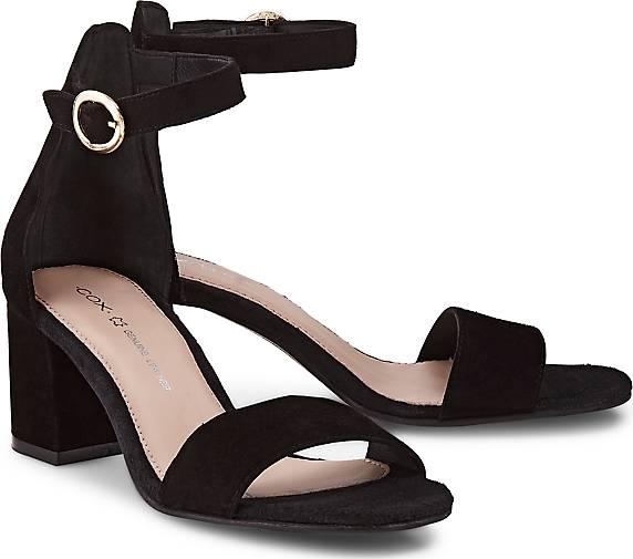 d0255f0245fedb COX Riemchen-Sandalette in schwarz kaufen - 47041401