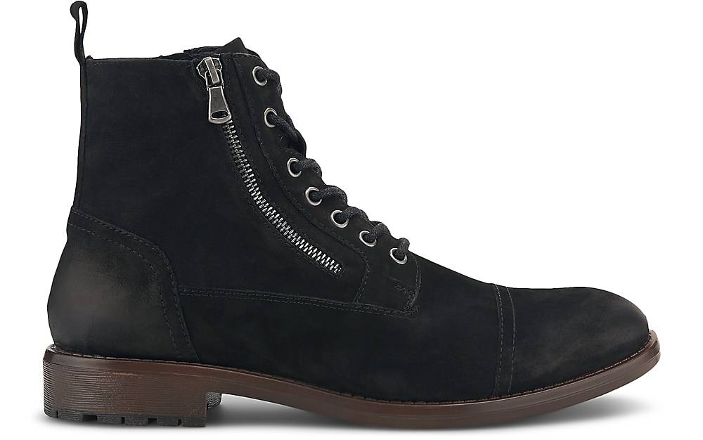 Cox Schnür-boots In Schwarz Kaufen Boots Freizeit-stiefel
