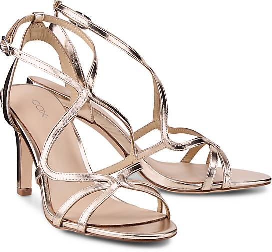 d868ae9542fa07 COX Trend-Sandalette in gold kaufen - 47390402