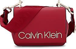 Candy Small Crossbody in rot, Umhängetaschen für Damen Gr. 1 Calvin Klein