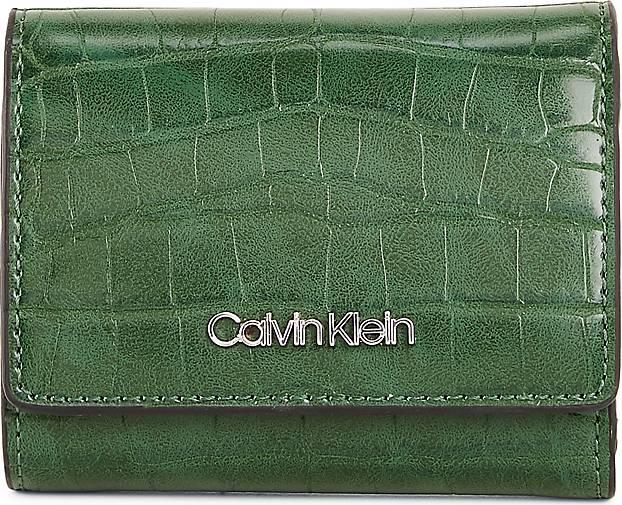Calvin Klein Geldbörse CK MUST CROC TRIFOLD XS