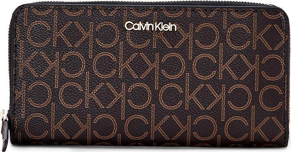 Calvin Klein Geldbörse ZIPAROUND LARGE