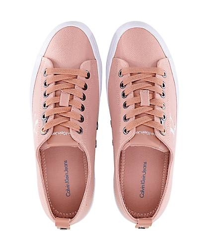timeless design ff501 99b7f Calvin Klein Jeans kaufen Plateau-Sneaker ZOLAH in rosa ...