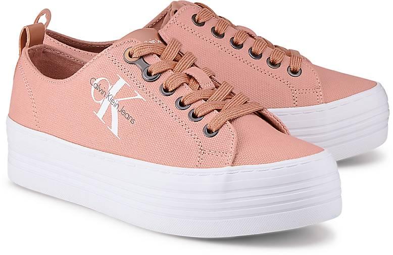 timeless design 159bb eaec6 Calvin Klein Jeans kaufen Plateau-Sneaker ZOLAH in rosa ...
