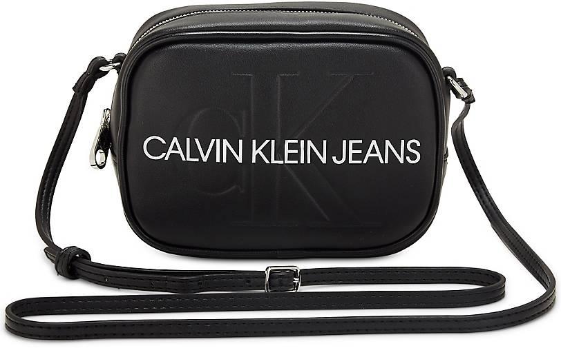 Calvin Klein Jeans Sculpted Monogram Camera Bag