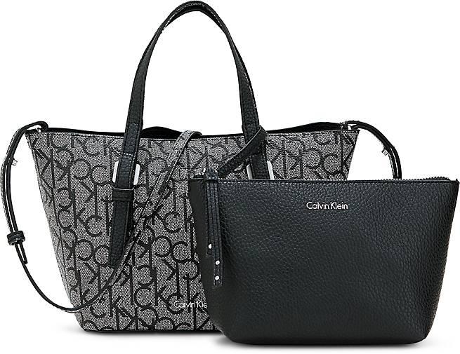 Calvin Klein Monogram-Shopper